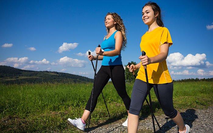 Kalorienverbrauch beim Nordic Walking: Wie hoch ist er? Was sollte man beachten?
