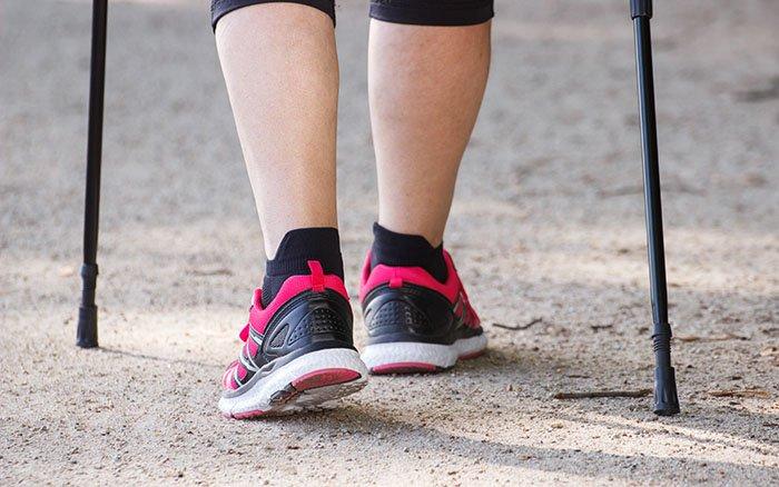 Nordic Walking Pads: Welcher Gummipuffer passt zu welchem Geländetyp?