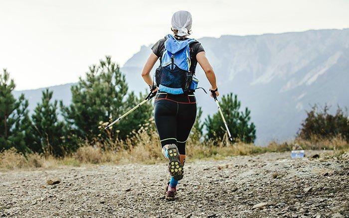 Nordic Running: Die gesteigerte Form des klassischen Nordic Walkings