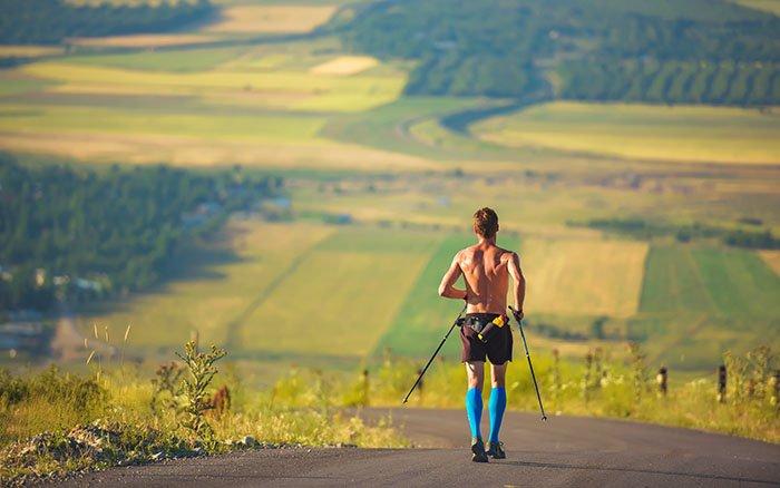 Nordic Walking Marathon: Alle Infos über Wettbewerbe beim Walken
