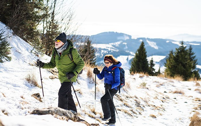 Nordic Hiking: Die anspruchsvolle Nordic Walking Alternative in den Bergen