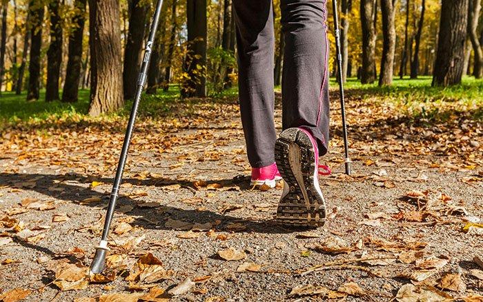 Nordic Walking im Herbst: 6 Tipps, die Du im Herbst unbedingt beachten solltest