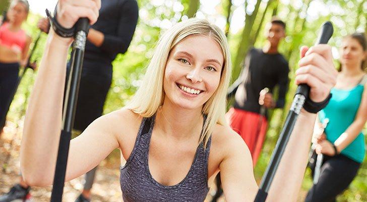 Sport fällt den meisten Menschen in der Gruppe deutlich leichter und macht mehr Spaß